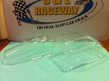 1/24 VINTAGE MODIFIED PINTO SLOT CAR BODY CLEAR VACUUM FORMED 2 PC.