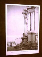 WW1 Grande guerra 1914-1918 L'altare del miracolo risparmiato dalle bombe