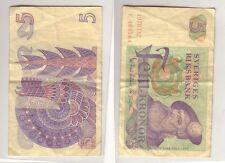 Banknote 5 Kronen Schweden 1978 (113225)