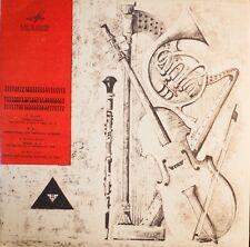 Villa-Lobos Hindemith Balai Pot CHAMBER PIECES for WIND QUINTET NM LP Melodiya