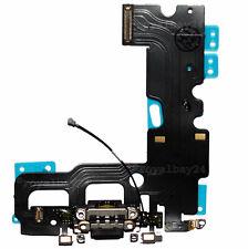 Original iPhone 7 hembrilla de carga de carga-Flex schw. audio Connector Charger micro Dock
