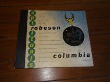 PAUL ROBESON SPIRITUALS 78 RPM E- BOOK COLUMBIA GOSPEL Nobody Knows the Trouble