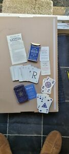 2 X Vintage Card Game Whot & Lexicon