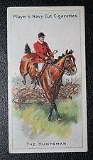 Fox Hunting  Huntsman  Vintage  Illustrated Card  # CAT A