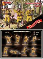 Mars Figures 32015 Japanese Infantry (WWII) (15 figures / 8 poses) 1/32