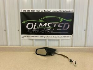 10 15 Chevrolet Camaro Driver Side Mirror Left Heated SS ZL1 Black LH 22762499