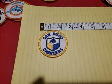 """Vintage San Diego Chargers Patch Football New 2 1/2"""" 1970's embroidered  NFL"""