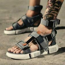 Mens Sandals Shoes Beach Cotton Nylon Sports Gladiators Leisure Summer Sandals