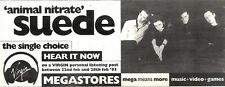 """27/2/93PGN53 SUEDE : ANIMAL NITRATE SINGLE ADVERT 4X11"""""""