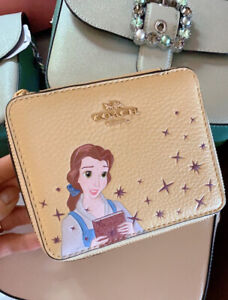 NWT DISNEY X COACH LARGE JEWELRY BOX WITH BELLE, Two Disney Sku $20 Off