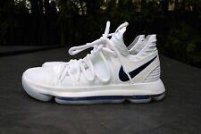 NIKE ZOOM KD10 GOLDEN STATE WARRIORS NBA WHITE ROYAL Blue 897815-101 Men's 9.5