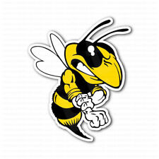 Angry Bee Fighter Car Bumper Sticker