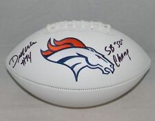 DEMARCUS WARE AUTOGRAPHED SIGNED DENVER BRONCOS FOOTBALL JSA W/ SB 50 CHAMP