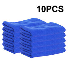 10 Pc Microfiber Cleaning Cloth No-Scratch Rag For Car Polishing Detailing Towel