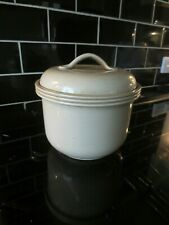 Pearsons of Chesterfield Large Casserole Dish CREAM 4 pints Ovenproof Stoneware