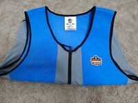 Chill-Its By Ergodyne 6667 Cooling Vest 4 Hr  Time Xl Size Blue
