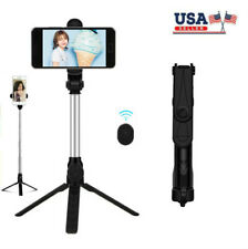 New listing Extendable Selfie Stick Monopod Tripod for Cell Phone + Wireless Remote Shutter