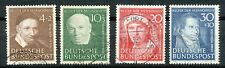 GERMANY 1951 HUMANITARIAN RELIEF FUND - VFU SET OF 4                     Hk924