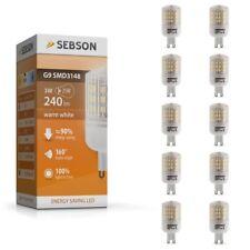 LED Lampen G9 - 10x LED G9 warmweiß G9 3W LED Lampe SEBSON Leuchtmittel G9 253