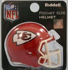 NFL American Football KANSAS CITY CHIEFS Riddell SPEED Pocket Pro Helmet