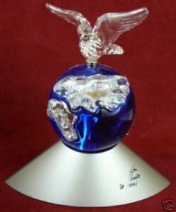 "Swarovski Crystal ""CRYSTAL PLANET"" Complete with Original Box & Cert"