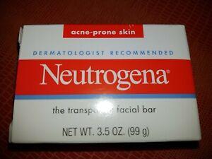 Neutrogena - The Transparent Facial Bar for Acne-Prone Skin *3.5 oz (99 g)*