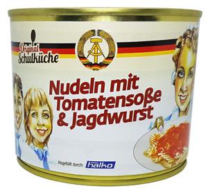 Original Schulküche - Nudeln mit Tomatensoße & Jagdwurst 500 g (6,18 €/kg)