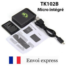 Tracker temps réel GPS TK102B - Micro intégré - traceur GPS GPRS SMS SOS