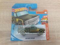 2020 Hot Wheels '69 Chevy Pickup - 1:64 1/64 HW Hot Trucks 10/10 Green