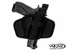 SIG SAUER P229  Leather &  Nylon Thumb Break Pancake Belt Holster, Akar