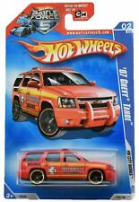 Hot Wheels '07 Chevy Tahoe 108/190, red [battle force 5 card]