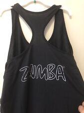 ZUMBA Fitness Zumba Wear Frill Me Bubble RACERBACK Black Z1T00778 XXL NWT