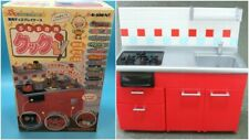 Re-Ment RED Kitchen  Miniatures 1:6 Scale Size JAPAN 2005 RARE NRFB Detailed NIB