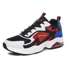 Men's Clunky Sneaker Dorky Dad Shoes Height Increase Thick Bottom Leisure Sports