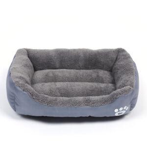 Pet Supplies Autumn Winter Large Pet Cat Dog Bed Warm Dog Pad Waterproof Kennel