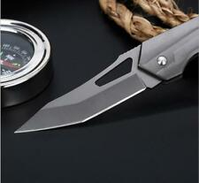7'' New 7CR13MOV Steel Blade Aluminum Handle Camping knife Folding Pocket Knife