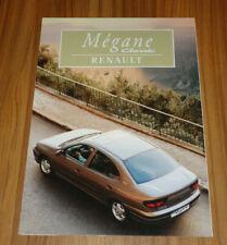 Dépliant RENAULT MEGANE 1 Classic de 1997