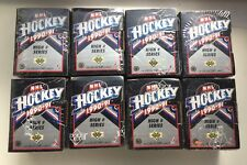 Lot of 8 1990-91 Upper Deck NHL Hockey High # Series Factory Sealed Sets