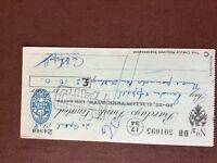 b1u ephemera cashed barclays bank cheque 1948 april 501095