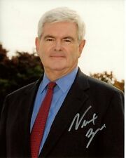 NEWT GINGRICH signed autographed photo