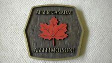 Ahhhh! Canada! Ahhhh! Molson! Canadian Beer Maple Leaf Bar Pub Sign
