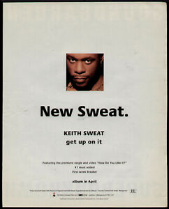 "1994 KEITH SWEAT ""GET UP ON IT"" ALBUM PROMO AD"