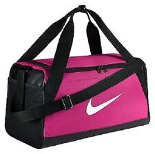 NIKE BRASILIA WOMEN'S PINK/BLACK DUFFEL/GYM BAG SZ S(SMALL), #BA5335-616
