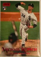2019 Topps Stadium Club #46 Michael Kopech RC Red Foil SP, White Sox Rookie!!!