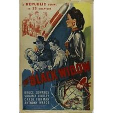 The Black Widow 1947 Republic serial on 2 DVDs in case w/art