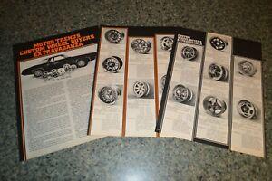 ★★1973 CUSTOM WHEEL BUYER'S GUIDE ORIGINAL ADVERTISEMENT AD 73 RIMS MAGS