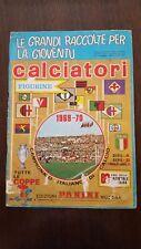 Album figurine calciatori panini anno 1969/70 vuoto.