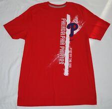 Philadelphia Phillies RED short sleeve t-shirt (L) by NIKE