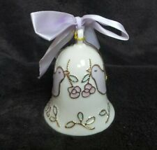 2001 Carlton Cards Collectible China/Porcelain Dove Bell