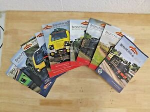 Nine Bachmann Branch-Line OO Scale Model Railway Catalogues 2006-14 (Hospiscare)